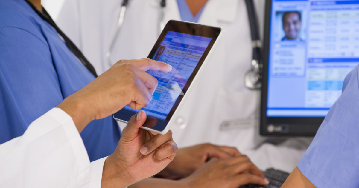 Should we issue NHS staff with personal devices?